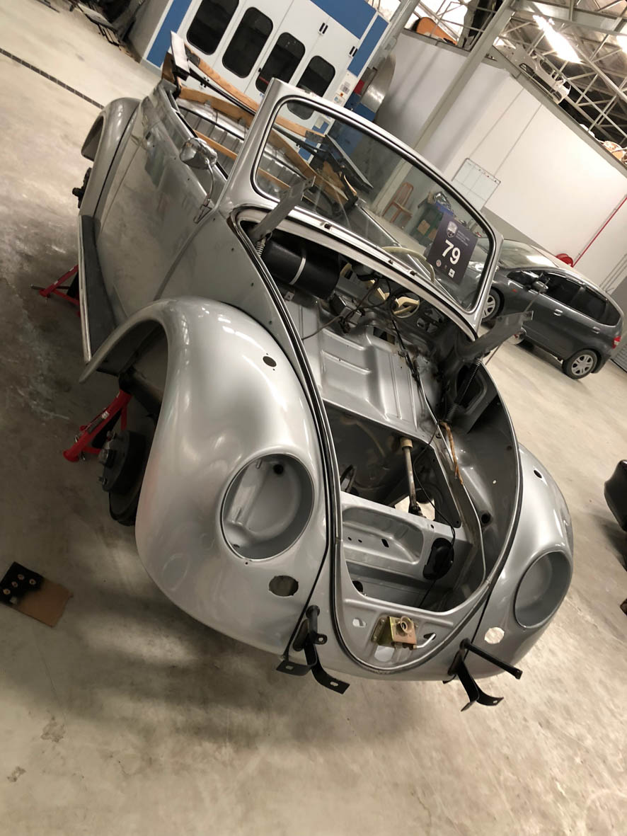 Beetle Now Where Is That Retro Rides Dubai Porsche 356 Fuse Box A New And Relays Lots Of Studying Wiring Diagrams I Think Well Get There Ready In Time For The Engine