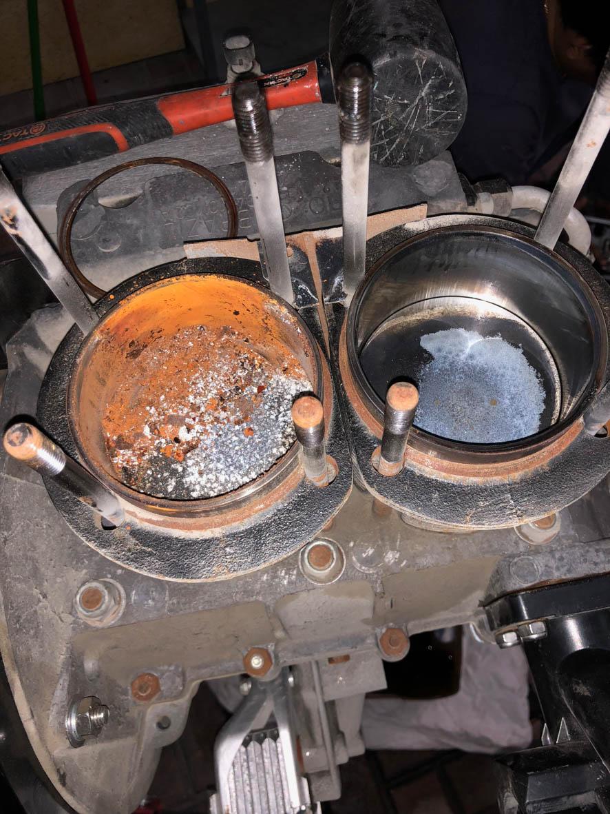 B - rusty pot